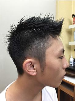 ベリーショートヘアーの画像