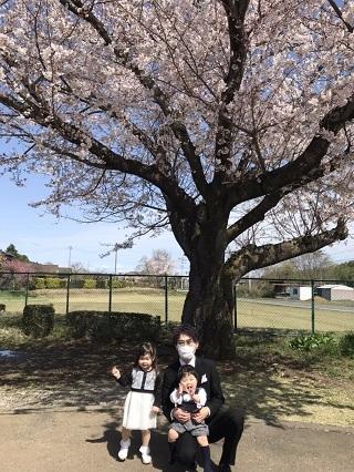 スタッフ松山の子供達の入所式画像