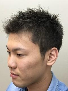 爽やかショートヘアーの画像